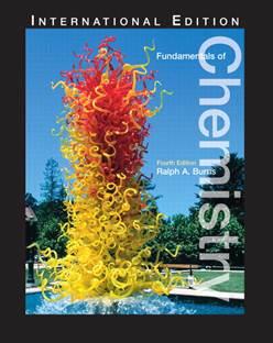 Fundamentals of Chemistry ISBN 9780131918603