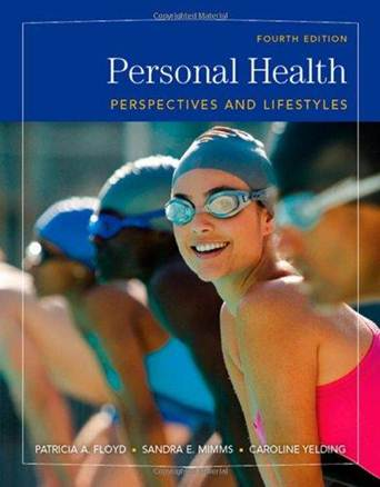 Personal Health Perspectives and Lifestyles ISBN 9780495111573