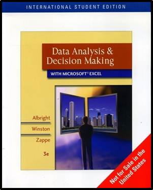 Data Analysis and Decision Making with Microsoft Excel, ISBN  9780324400861