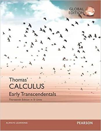 Thomas\' Calculus: Early Transcendentals in SI Units  ISBN 9781292163444
