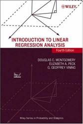 Introduction to Linear Regression Analysis ISBN 9780471754954