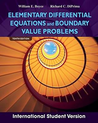 Elementary Differential Equations and Boundary Value Problems, ISBN 9781118323618