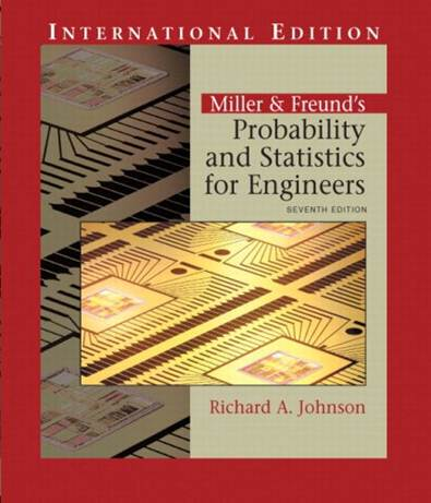 Miller  Freund\'s Probability and Statistics for Engineers (IE) (1 BK./1 CD-ROM)