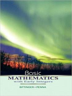 Basic Mathematics with Early Integers , ISBN  9780321440112
