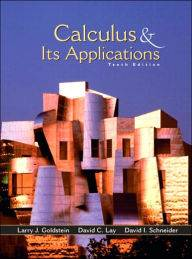 Calculus and Its Applications 10th Edition, ISBN 9780130466105