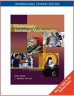 Elementary Technical Mathematics Paperback – International Edition, ISBN 9780495110453