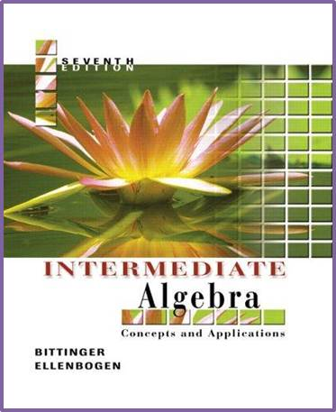 Intermediate Algebra:Concepts and Applications , ISBN - 9780321233868