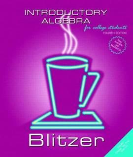 Introductory Algebra 4ED ISBN  9780131492622