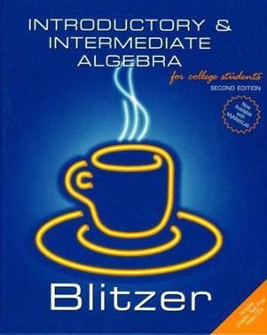 Introductory and Intermediate Algebra , ISBN  9780131492592