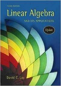 Linear Algebra and Its Applications (3rd edition), ISBN  9780321287137