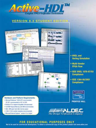 Active-HDL 6.3 Student Edition, ISBN 9780131866973