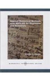 Applied Numerical Methods with Matlab for Engineers and Scientists ,ISBN 9780071244848