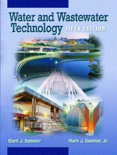 Water and Wastewater Technology (International Edition), ISBN  9780131911406