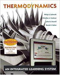 Thermodynamics: An Integrated Learning System ISBN 9780471661269