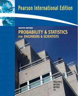 Probability  Statistics for Engineers  Scientists:International Edition  9780132047678