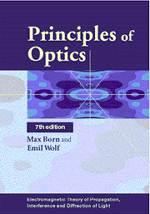 Principles of Optics ISBN 9780521642224