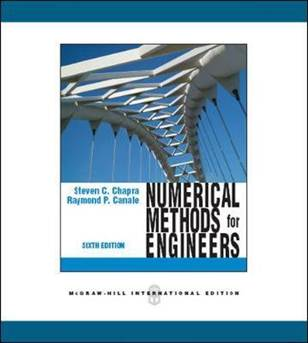 Numerical Methods for Engineers  ISBN  9780071267595