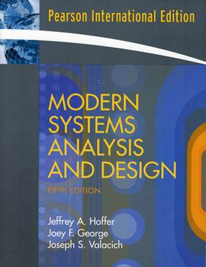 Modern Systems Analysis and Design  International Edition - 9780136132967