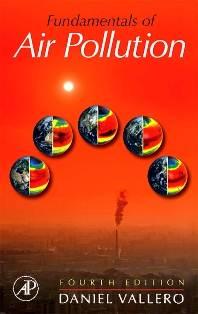 Fundamentals of Air Pollution  ISBN  9780123736154