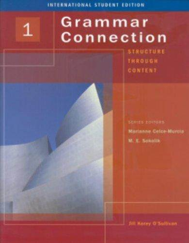 Grammar Connection Book 1 – Student Book  ISBN 9781413017502