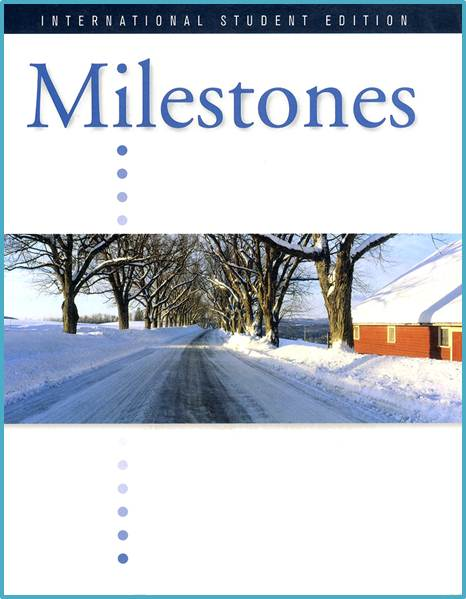 Milestones, Introductory 2009  : Student Edition  ISBN  9781424008957