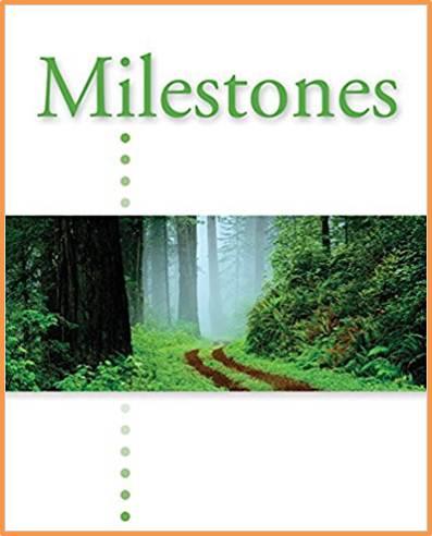 Milestones A: Student Edition   ISBN 9781424008872
