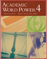 Academic Word Power 4   ISBN  9780618397747
