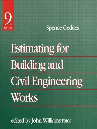 Estimating for Building  Civil Engineering Work   ISBN 9780750627979