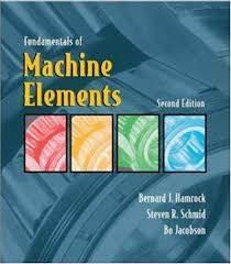 Fundamentals of Machine Elements   ISBN  9780072976823