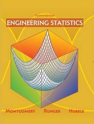 Engineering Statistics  4ED ISBN 9780471735571