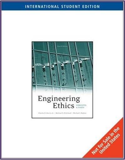 Engineering Ethics  ISBN  9780495605102