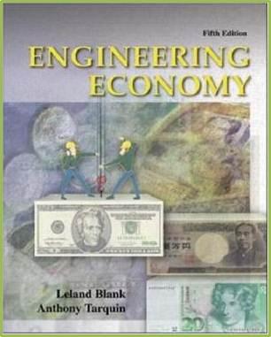Engineering Economy  5ed   ISBN 9780072432343