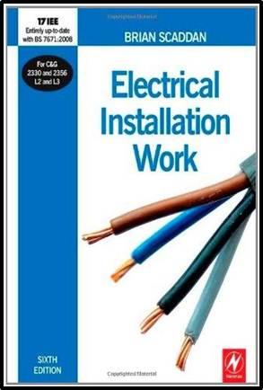 Electrical installation work  ISBN 9780750687331