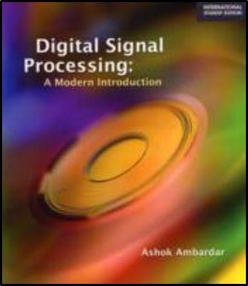Digital Signal Processing   ISBN  9780495082385
