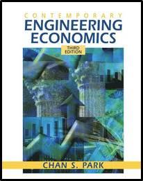 Contemporary Engineering Economics (3rd Edition)  ISBN  9780131219830