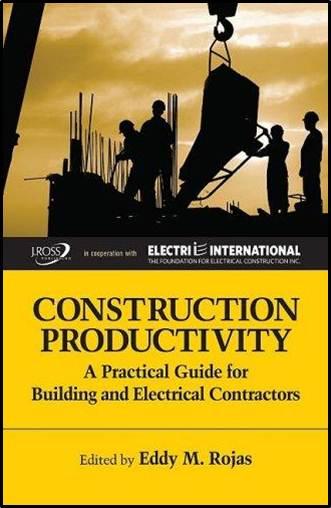 Construction Productivity   ISBN: 9781604270006