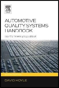 Automotive Quality Systems Handbook   ISBN: 9780750666633