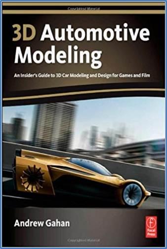 3D Automotive Modeling   ISBN  9780240814285