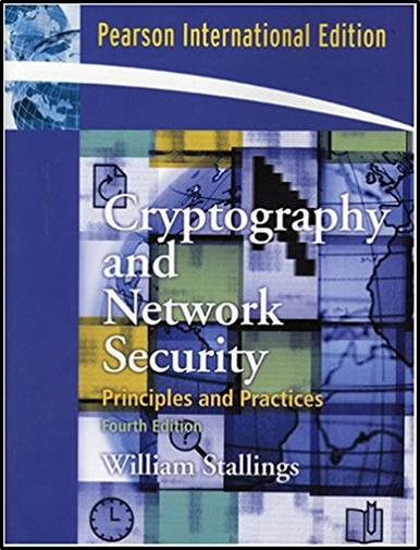Cryptography and Network Security : International Edition  ISBN 9780132023221