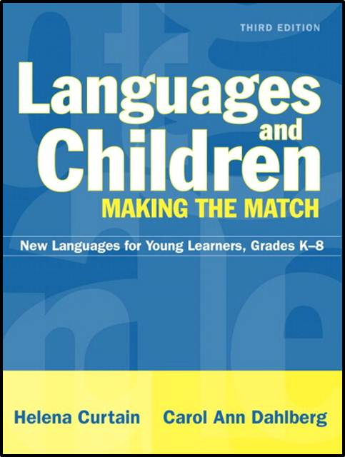 Languages and Children--Making the Match  ISBN  9780205366750