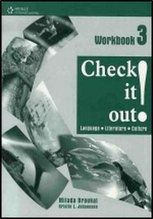 Check It Out! 3: Workbook, 1st Edition  ISBN  9781424004768
