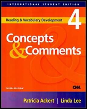 Ise-Concepts and Comments (Reading and Vocabulary Develop) ISBN  9781413004489