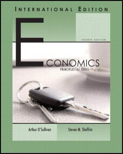 Economics ; Principles and Tools  ISBN  9780131968721