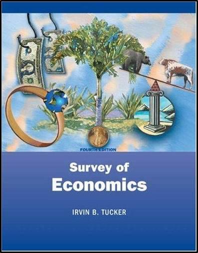 Survey of Economics  ISBN 9780324159912