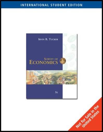 Survey of Economics (ISE)  ISBN  9780324315400