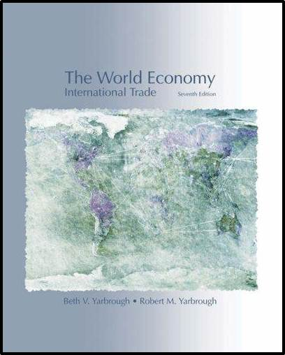 The World Economy: Trade and Finance, International Edition, 7th Edition  ISBN 9780324315417