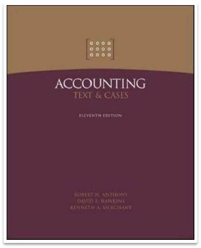 Accounting: Texts and Cases  11th Edition ISBN 9780071232265