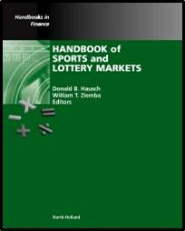 Handbook of Sports and Lottery Markets  1st Edition  ISBN 9780444507440