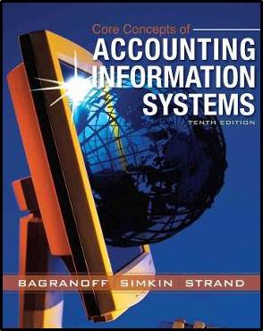 Core Concepts of Accounting Information Systems, 10th Edition  ISBN 9780470045596