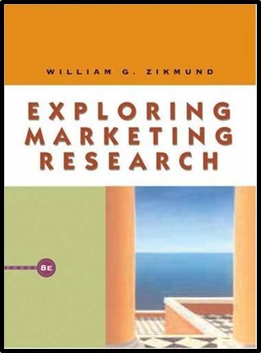 Exploring Marketing Research  ISBN 9780324181487